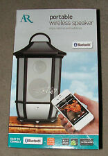 ACOUSTIC RESEARCH PORTABLE WIRELESS BLUETOOTH SPEAKER-NEW-#AWSBT6