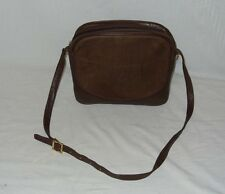 LOEWE - VINTAGE BROWN LAMBSKIN LEATHER/SUEDE SHOULDER BAG (FABULOUS CONDITION)