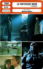 Fiche Cinéma. Movie Card. La forteresse noire/The keep (USA) 1983 Michael Mann