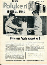1951 Print Ad of Polyken Industrial Tape at Aerojet Engineering Corp JATO