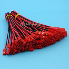 50Pairs 2Pin JST 22AWG 15cm Pitch 2.54mm Wire Connector for DIY RC Model