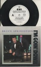"BRUCE SPRINGSTEEN   Rare 1984 Aust Promo Only 7"" OOP P/C Single ""I'm Goin' Down"""