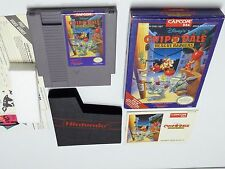 Disney's Chip 'N Dale: Rescue Rangers, Nintendo Nes game Complete