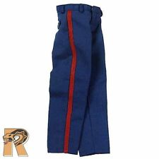 Tony: USMC Ceremonial - Blue Dress Pants - 1/6 Scale - DID Action Figures