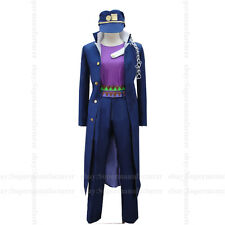 JoJo's Bizarre Adventure Jotaro Kujo Uniform Cosplay Clothing Cos Costume