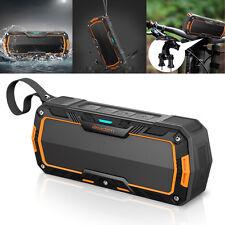 Outdoor Waterproof Shockproof Wireless Bluetooth Speakers Stereo Bass Universal