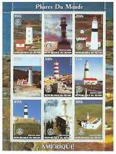 Lighthouses of America - Mint Sheet of 9 - MNH - 8603