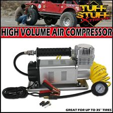 "HEAVY DUTY 150psi PORTABLE AIR COMPRESSOR 12V HIGH VOLUME EXTREME- 35"" TIRES"