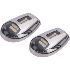 Low Profile Stainless Steel Surface Mount LED Docking Lights for Boats