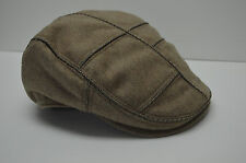 NEW ROBERT GRAHAM BANDAR DRIVING HAT OSFA CAMEL JACQUARD LINING EMROIDERED