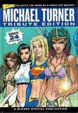 "MICHAEL TURNER TRIBUTE EDITION 1:299 LIMITED WIZARD HARDCOVER! ""VERSION 2 ART"""