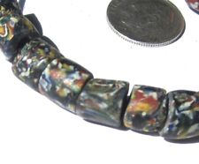 """14 RARE STUNNING OLD VENETIAN """"END OF DAY"""" ANTIQUE BEADS AFRICAN TRADE"""