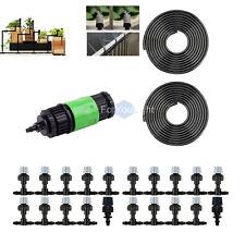 Home Garden Patio Misting Cooling System 20 plastic mist nozzle 20m/67' PE Hose