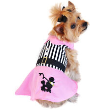XS DOG DRESS teacup yorkie chihuahua maltese POODLE SKIRT DRESS SHIPS FROM USA