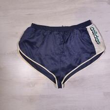 "ADIDAS 32-34"" Glanz Beckenbauer Vintage Sprinter Rare High Cut Shorts D7 #D3899"