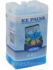 GENUINE THERMOS 2 X 200G FREEZER BLOCK BOTTLES REUSABLE COOLER ICE PACK BAG 5045