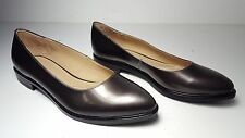 $69 size 9 Naturalizer Bengol Chrome Flats Womens Casual Shoes NEW