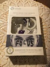 NIB YURBUDS Small Sized Earphones Designed For Women.  Gray.  Sport.