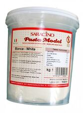 Saracino 1kg White Modelling Paste For Sugarcraft & Cake Decorating