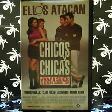 CHICOS Y CHICAS (Robert Iscove) VHS . Freddie Prinze Jr., Claire Forlani, Jason
