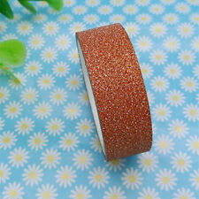 Hot 3m Glitter Washi Paper Masking Adhesive Tape Label DIY Craft Decorative 10