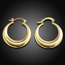 Paar Damen Ohrring Ohrstecker Ohrhänger Creolen pl. Gelbgold DOK030-A T::A