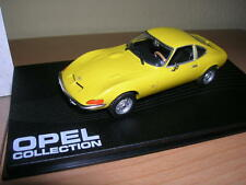 Altaya Ixo Opel Collection Opel GT gelb yellow Baujahr 1968 - 1973, 1:43