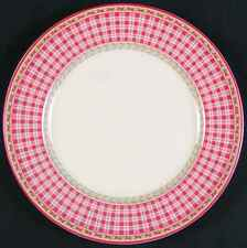 Royal Doulton PROVENCE ROUGE PLAID Salad Plate 3420928