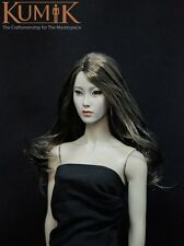 "1/6 KUMIK asiatique Asian Female Head Sculpt  KM13-16  for 12"" figure action NEW"