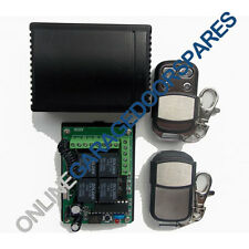 Garage Door Universal Receiver Remote Control Kit for Garage Openers