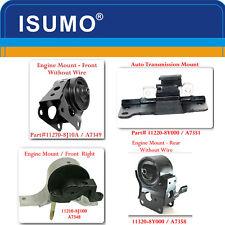 Kit 4 Pcs Engine Motor &Trans Moun For Nissan Maxima  2004-2006 3-5L-Auto-M01