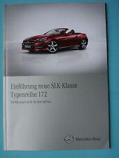 Einführungsschrift  Mercedes W172 R172 SLK (Werkstatthandbuch)