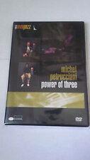 """MICHEL PETRUCCIANI """"POWER OF THREE"""" DVD"""