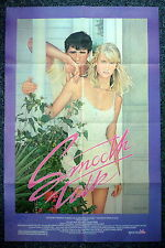 SMOOTH TALK Original 1980s Signed Joyce Chopra OS Movie Poster Sexy Laura Dern