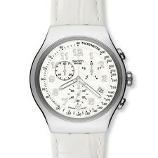 New Swatch Irony Your Turn Chronograph Date Men oversize Watch 48mm YOS439 $190