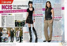 Coupure de presse Clipping 2012 (3 pages ) NCIS Pauley Perrette Cote de Pablo