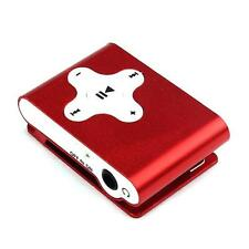 Mini Clip Metal USB Digital MP3 Player Support Micro 32GB SD TF Card Music Media