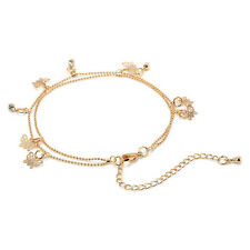 Cute Summer Beach Ankle Gold Butterfly Chain Anklet Bracelet Sandal Foot Jewelry