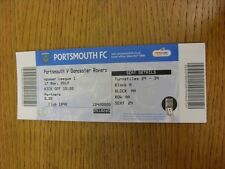 17/11/2012 Ticket: Portsmouth v Doncaster Rovers  . Thanks for viewing this item