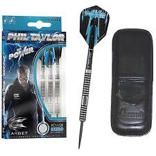 Phil Taylor 80% TUNGSTEN 8ZERO Dart Board DARTS 23gram + FREE DART CASE