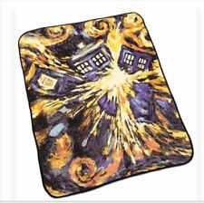Doctor Who Throw Blanket - Exploding TARDIS Pandorica