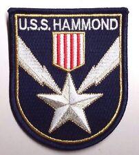 "Stargate SG-1 USS Hammond  Logo 3.75"" Uniform  Patch- FREE S&H  (SGPA-37-H)"