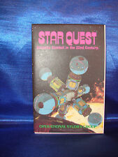 Vtg Operational Studies Group - STAR QUEST Galactic Combat simulation 1979