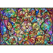 Tenyo Jigsaw Puzzle Disney All Star Stained Glass D-2000-603 New 2000 Pcs Japan