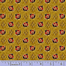 Judie Rothermel Mill Girls  Flowers  Reproduction Cotton Fabric   BFR