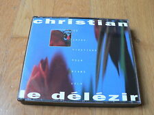 Christian Le Délézir : 23 improvisations pour piano solo - 2 CD Exaton 1994