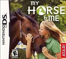 MY HORSE AND ME DS! DSI, LITE, XL, 3DS! RIDE, RIDING RANCH FUN! STABLE, GROOM