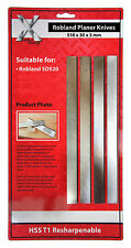ROBLAND SD520 planer blade knives 1 SET OF 4, 520303