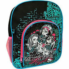 Monster High Backpack School Bag Rucksack Lunch Bag Nursery