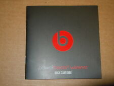 Quick Start User Guide for Beats Dre Powerbeats 2 Wireless Headphones - 10 pages